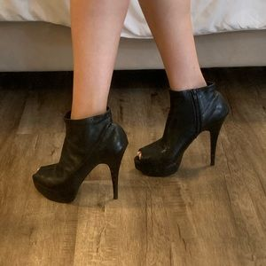 Chinese Laundry Open-Toe Booties